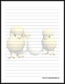 Chicks Stationery