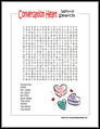 Valentines Word Search