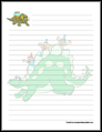 Dinosaur Stationery