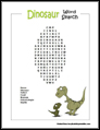 Bird Word Search