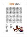 Dog Word Search