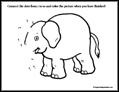 Elephant Dot to Dot