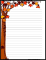 Fall Stationery