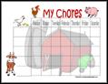 Farm Chore Chart