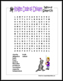 Knight Word Search