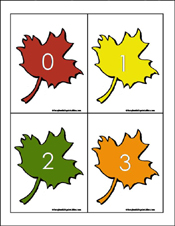 Preschool & Kindergarten Fall Math Worksheets