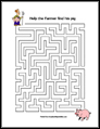 Pig Maze