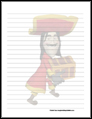 Pirate Stationery