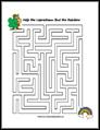 St Patrick's Day Maze