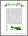 Reptile Word Search