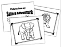 Safari Animal Coloring Book