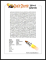 Space Shuttle Word Search