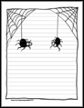 Spider Stationery