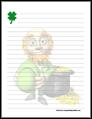 St Patricks Day Stationery