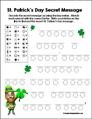 St Patricks Day Printable