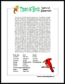 Easy Bird Word Search