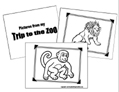 Zoo Animal Coloring Book