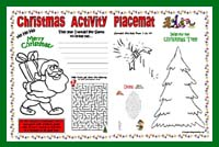 Printable Christmas Placemat