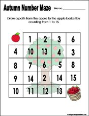 math worksheet : preschool and kindergarten fall math worksheets : Number Recognition Worksheets For Kindergarten