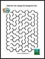 Lion Maze